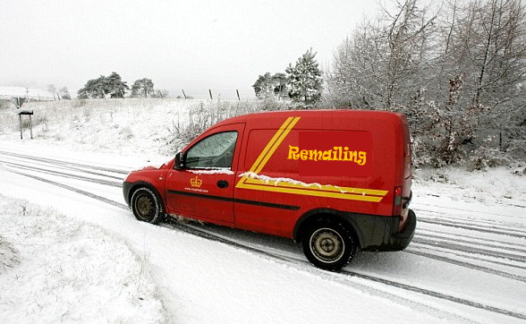 Remailing.us Mail Van